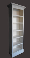 White Bookcase Custom Sizes