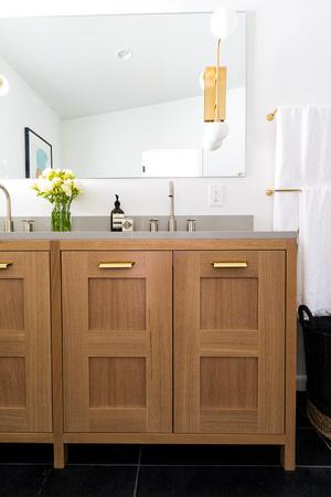 Rift White Oak Bathroom Vanity